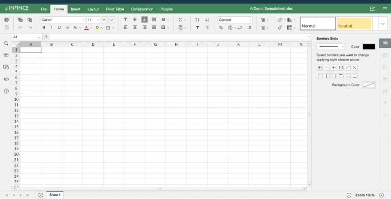 Editing a Spreadsheet