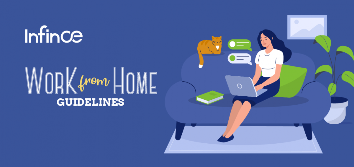 Effective Work From Home Tips – Infographic