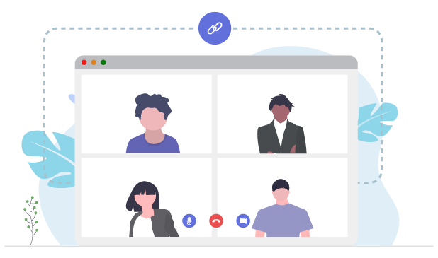 Video Meetings Collaboration App - InfinCE